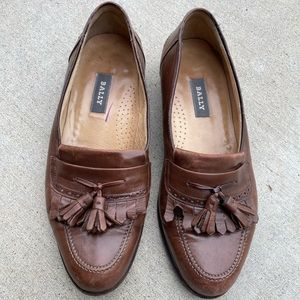 Bally men's made in Italy men's loafers size 9D